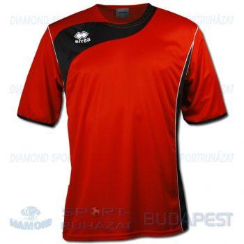 ERREA TONIC SHIRT futball mez - piros-fekete [L]