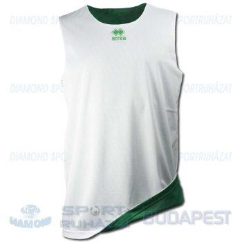 ERREA NEW TUCSON DOUBLE CANOTTA kifordíthatós kosárlabda mez - fehér-zöld [M]