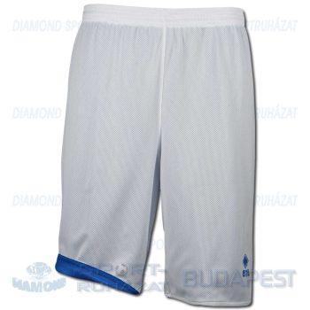 ERREA NEW TUCSON DOUBLE SHORT kifordíthatós kosárlabda nadrág - fehér-azúrkék