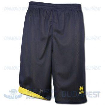 ERREA NEW TUCSON DOUBLE SHORT kifordíthatós kosárlabda nadrág - sötétkék-sárga