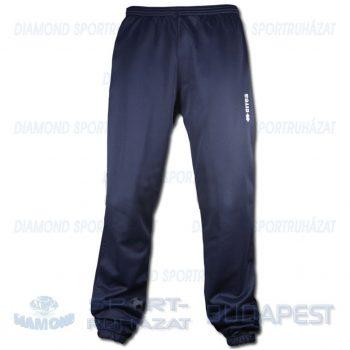 ERREA BASIC TROUSERS edző- és szabadidő melegítő nadrág - sötétkék