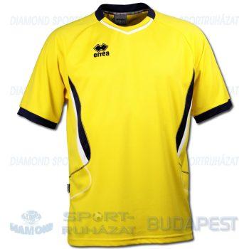 ERREA ELBA futball mez - sárga-sötétkék-fehér