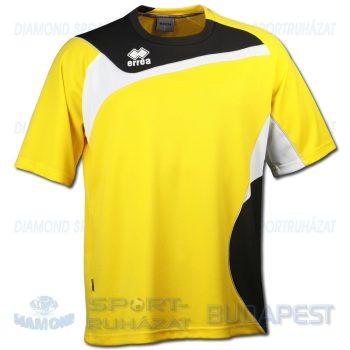 ERREA DEGAS SHIRT futball mez - sárga-fekete-fehér [S]