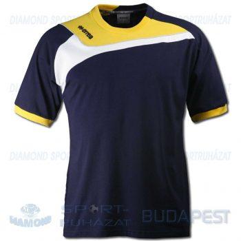 ERREA ITACA pamut póló (rövid ujjú) - sötétkék-sárga-fehér