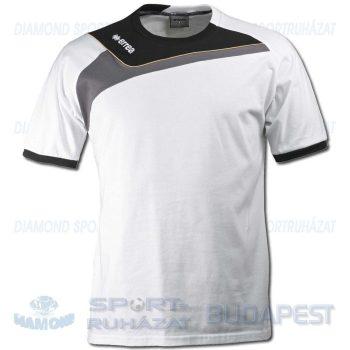 ERREA ITACA pamut póló (rövid ujjú) - fehér-fekete-antracit [M]