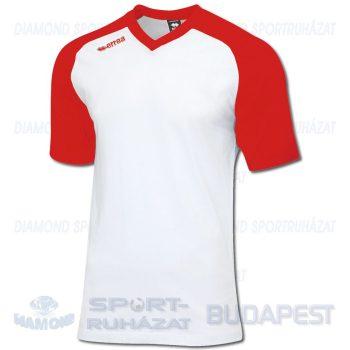 ERREA UNION pamut póló (rövid ujjú) - fehér-piros [XS]