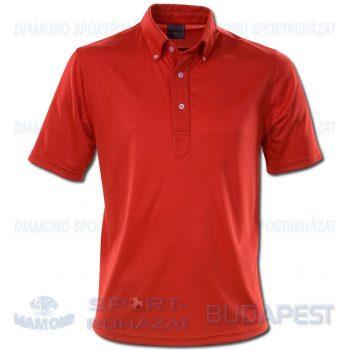 ERREA TECH póló (rövid ujjú galléros) - piros [S]