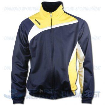 ERREA DENVER cipzáras edző- és szabadidő melegítő felső - sötétkék-sárga-fehér [XL]