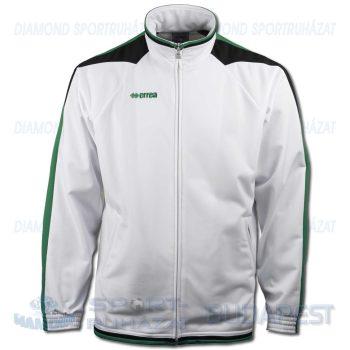 ERREA KANSAS cipzáras edző- és szabadidő melegítő felső - fehér-zöld-fekete [M]