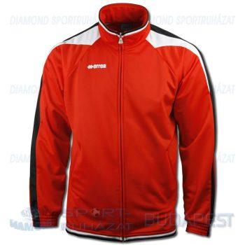 ERREA KANSAS cipzáras edző- és szabadidő melegítő felső - piros-fekete-fehér [L]