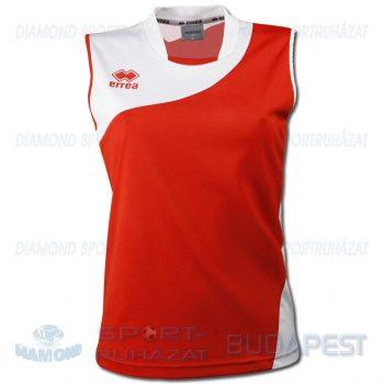 ERREA NICOLE WOMAN SHIRT női röp- és kosárlabda mez - piros-fehér