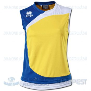 ERREA QUEENS WOMAN női röplabda mez - sárga-azúrkék-fehér