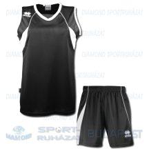 ERREA JOYCE WOMAN KIT női kosárlabda mez + nadrág KIT - fekete-fehér