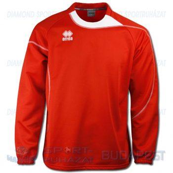 ERREA LYS belebújós edző- és szabadidő melegítő felső - piros-fehér