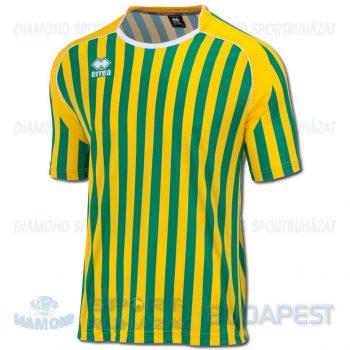 ERREA SWINDON futball mez - sárga-zöld