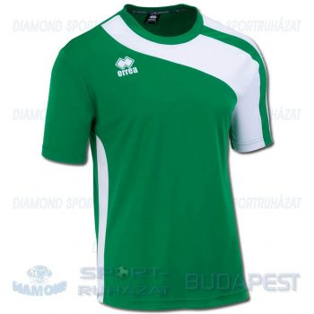 ERREA BOLTON SHIRT futball mez - zöld-fehér [L]