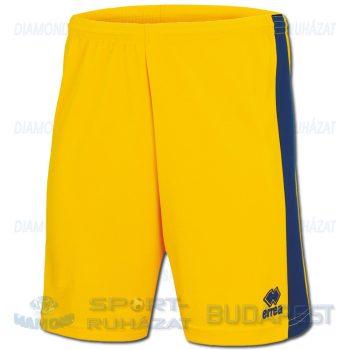 ERREA BOLTON SHORT sportnadrág - sárga-sötétkék