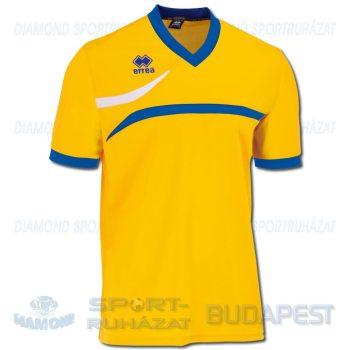 ERREA DERBY SENIOR futball mez - sárga-azúrkék-fehér [L]