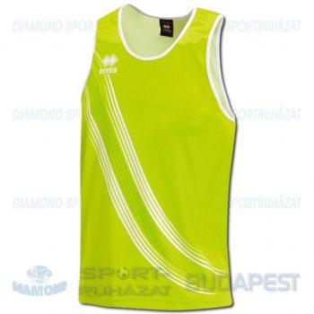 ERREA LEVANTE SENIOR férfi atléta mez (ujjatlan) - UV zöld-fehér [L]