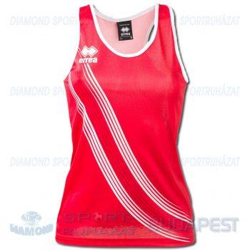 ERREA LEVANTE LADIES SENIOR női atléta mez (ujjatlan) - piros-fehér [M]