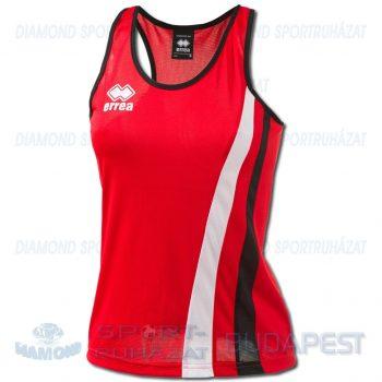 ERREA BENNY LADIES SENIOR női atléta mez (ujjatlan) - piros-fekete-fehér [M]