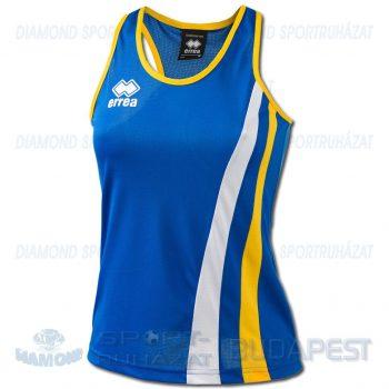 ERREA BENNY LADIES SENIOR női atléta mez (ujjatlan) - azúrkék-sárga-fehér [M]