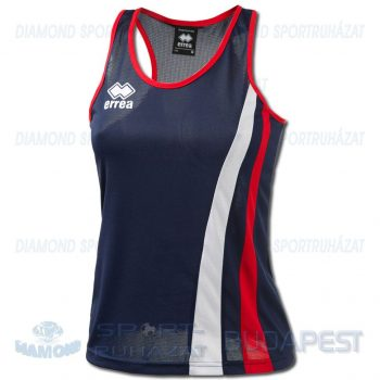 ERREA BENNY LADIES SENIOR női atléta mez (ujjatlan) - sötétkék-piros-fehér [M]