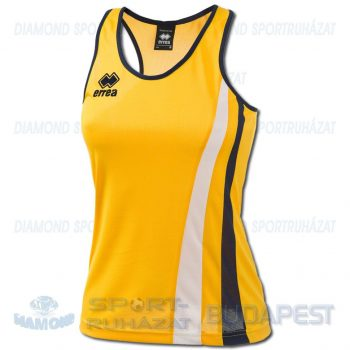 ERREA BENNY LADIES SENIOR női atléta mez (ujjatlan) - sárga-sötétkék-fehér [M]