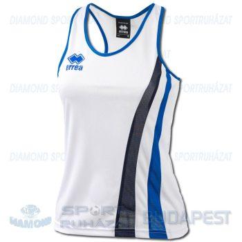 ERREA BENNY LADIES SENIOR női atléta mez (ujjatlan) - fehér-azúrkék-sötétkék [M]