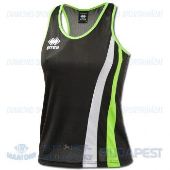 ERREA BENNY LADIES SENIOR női atléta mez (ujjatlan) - fekete-UV zöld-fehér [M]