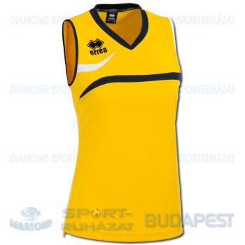 ERREA VITORIA WOMAN SHIRT női röp- és kosárlabda mez - sárga-sötétkék-fehér