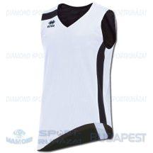 ERREA SEATTLE DOUBLE CANOTTA SENIOR kifordíthatós kosárlabda mez - fehér-fekete [M]