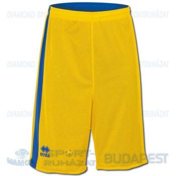 ERREA SEATTLE DOUBLE SHORT kifordíthatós kosárlabda nadrág - sárga-azúrkék