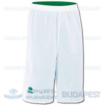 ERREA UTAH DOUBLE SHORT kifordíthatós kosárlabda nadrág - fehér-zöld [L]