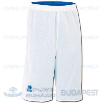 ERREA UTAH DOUBLE SHORT kifordíthatós kosárlabda nadrág - fehér-azúrkék