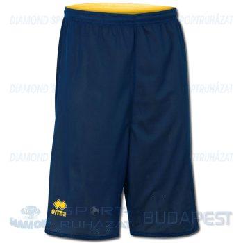 ERREA UTAH DOUBLE SHORT kifordíthatós kosárlabda nadrág - sötétkék-sárga [L]