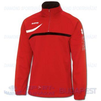 ERREA BRISTOL SENIOR cipzáras nyakú edző- és szabadidő melegítő felső - piros-fekete-fehér [L]
