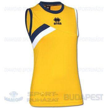 ERREA FORTUNE WOMAN SENIOR női röp- és kosárlabda mez - sárga-sötétkék-fehér [M]