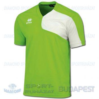 ERREA MARCUS SHIRT futball mez - UV zöld-fehér [M]