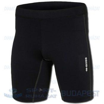 ERREA GYALI SENIOR elasztikus futónadrág (bermuda) - fekete [L]