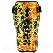 ERREA TAKLE 3.0 SENIOR sípcsontvédő - fekete-UV sárga-UV narancssárga