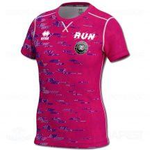 ERREA MARION RUNNING női atléta mez (rövid ujjú) - fukszia-rózsaszín