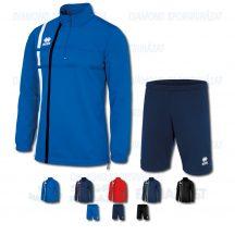 ERREA MAXIM & CORE SET cipzáras nyakú edző melegítő felső + bermuda nadrág SZETT - KOLLEKCIÓ