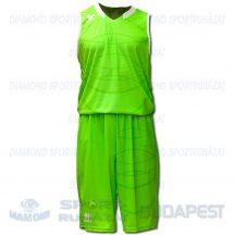 ERREA HOUSTON SENIOR KIT férfi kosárlabda mez + nadrág KIT - UV zöld-fehér [L]