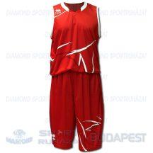 ERREA ORLANDO SENIOR KIT férfi kosárlabda mez + nadrág KIT - piros-fehér [L]
